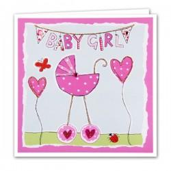 Gift - Card - New baby girl