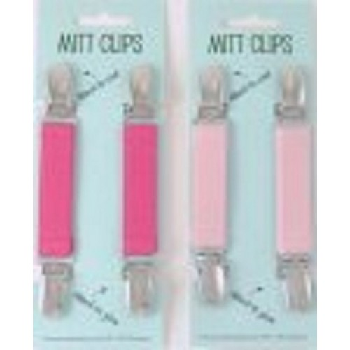 Gift - Mitten clips - NAVY, PINK, RED