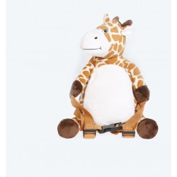 Backpack - with reins - Giraffe