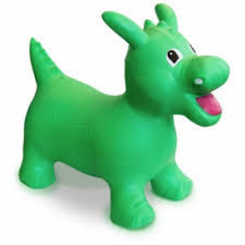 Toy - Happy Hopperz (30 months - 5 years) - Green  Dino