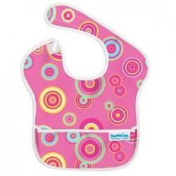 Gift - Bib - Pink Circles