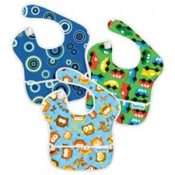 Gift - Bib - Assorted 3 - blue