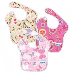 Gift - Bib -Super Bib - 3 Assorted - Pink