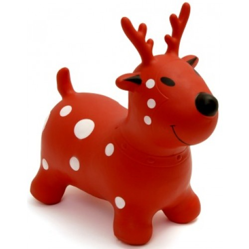Toy - Happy Hopperz - Red reindeer - (1y-  2/12 yr   adviced )  1 left - PICK UP in the shop only £19  sale
