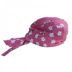 Hat - Baby girls  Sun hat / bandana - one size - sale