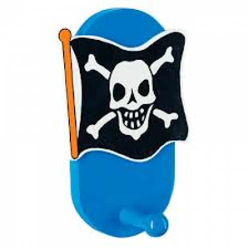 Gift - Hook - Skull & Crossbones single hook