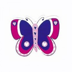 Gift - Magnets for Girls - Butterfly