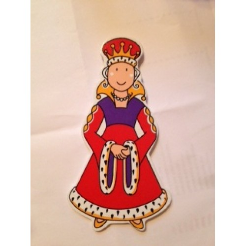 Gift - Magnets for Girls - Queen