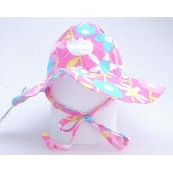 Hat - Flappy Happy - Sunhat - UPF50 - Petal Pops - small 0-6 - sale
