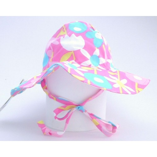Hat - Flappy Happy - Sunhat - UPF50 - Petal Pops - small 0-6, medium 6-12, large 12-24m